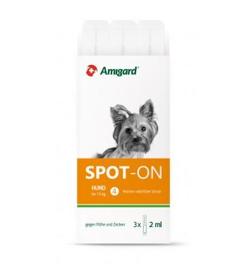 Amigard Spot-on Hund bis 15 Kg, Dreierpackung