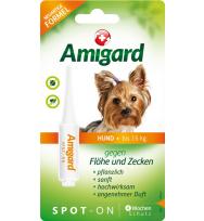 Amigard Spot-on Hund bis zu 15 Kg, 2 ml, Einzelpackung