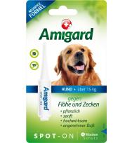 Amigard Spot-on HUND über 15 Kg, Einzelpackung